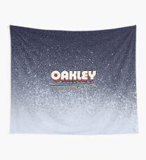 Oakley, California   Retro Stripes Wall Tapestry