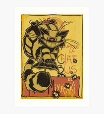 Nekobus, le Chat Noir cartel Lámina artística