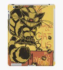 Nekobus, le Chat Noir cartel Vinilo o funda para iPad