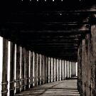 """Long Walk Under West Pier"" by Bradley Shawn  Rabon"