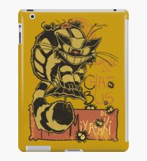 Nekobus, le Chat Noir Vinilo o funda para iPad