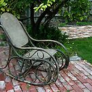 Bentwood rocking chair by Maggie Hegarty