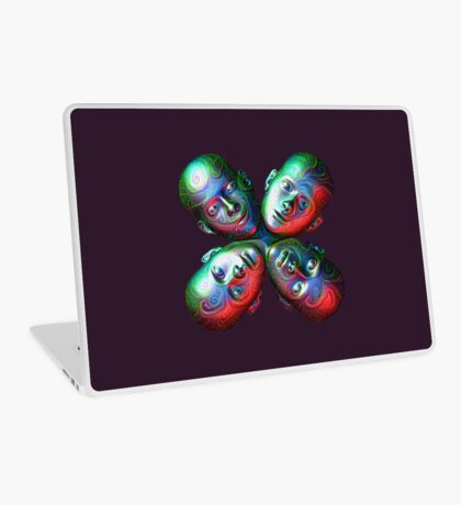 #DeepDream Masks - Heads 5x5K v1455792443 Laptop Skin
