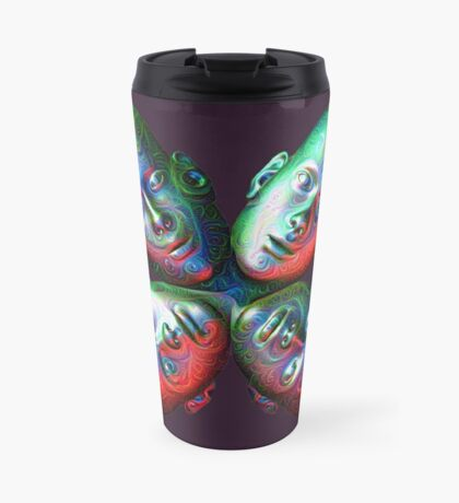 #DeepDream Masks - Heads 5x5K v1455792443 Travel Mug