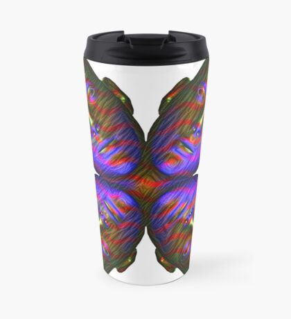 #DeepDream Masks - Heads - Butterfly 5x5K v1455803831 Travel Mug