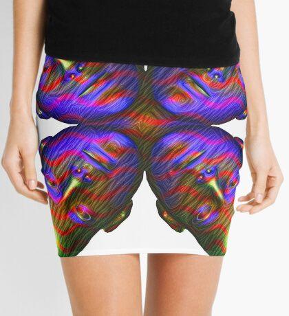 #DeepDream Masks - Heads - Butterfly 5x5K v1455803831 Mini Skirt