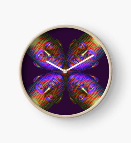 #DeepDream Masks - Heads - Butterfly 5x5K v1455803831 Clock
