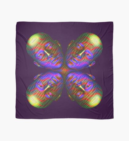 #DeepDream Masks - Heads - Butterfly 5x5K v1455803831 Scarf
