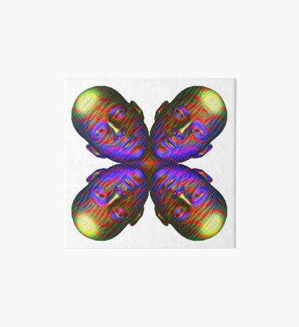 #DeepDream Masks - Heads - Butterfly 5x5K v1455803831 Art Board