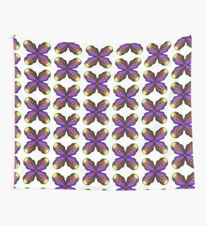 #DeepDream Masks - Heads - Butterfly 5x5K v1455803831 Wall Tapestry