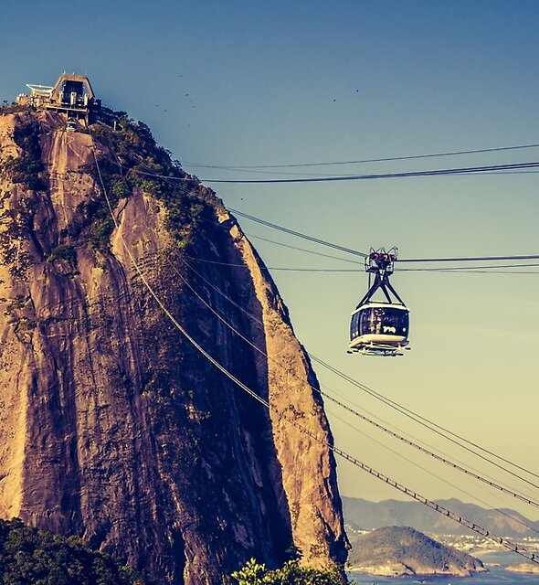 Sugar Loaf Mountain in Brazil by PRODUCTPICS