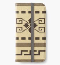 Big Lebowski Cardigan pattern iPhone Wallet/Case/Skin