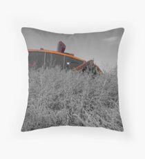 Giant Cricket Throw Pillow