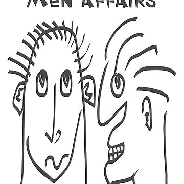 Men Affairs - mate, friends, funny, men talking by fuxart