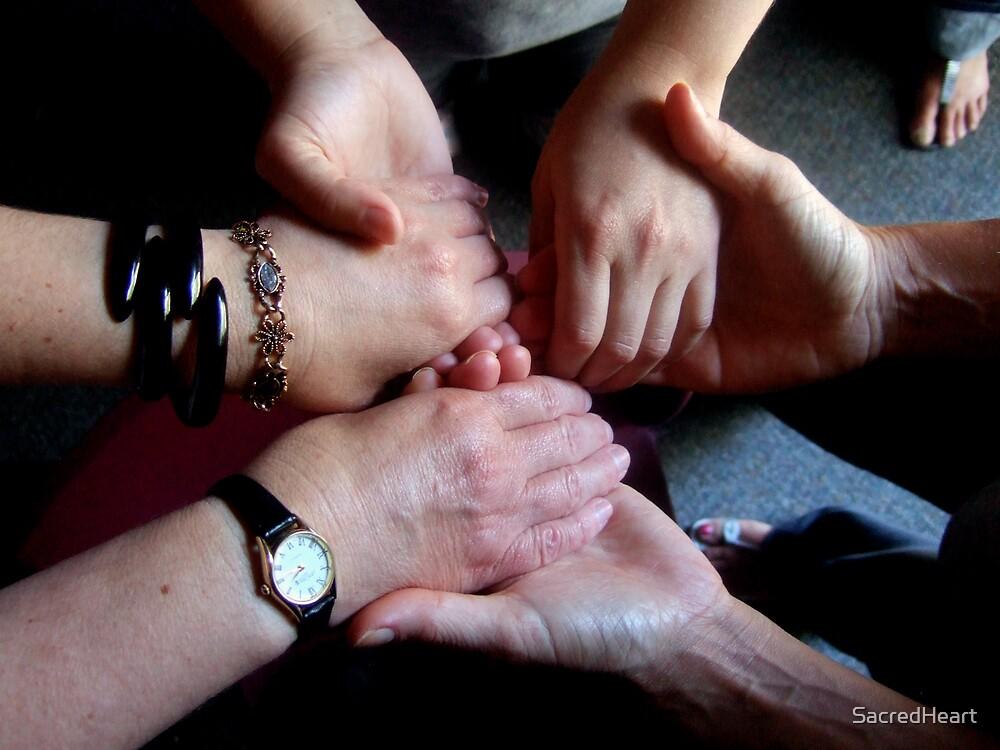 Hand circle by Agneska by SacredHeart