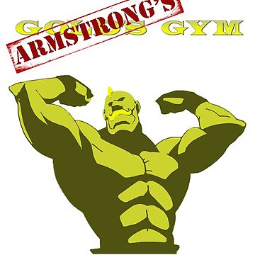 Armstong's Gym - Correction stamp by CMOsimon