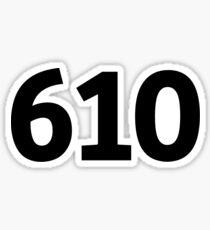 610 Sticker