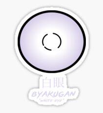 Oeil du Byakugan Sticker