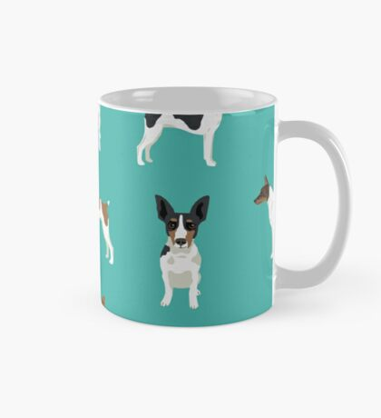 Rat Terrier dog breed pet art dog pattern gifts unique pure breed Mug