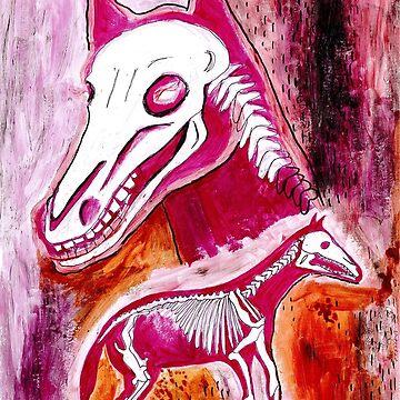 Horse inside by raelanh