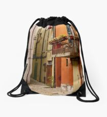 An Afternoon in Brisighella Drawstring Bag