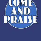 Come And Praise, 1980s school hymn book cover by unloveablesteve