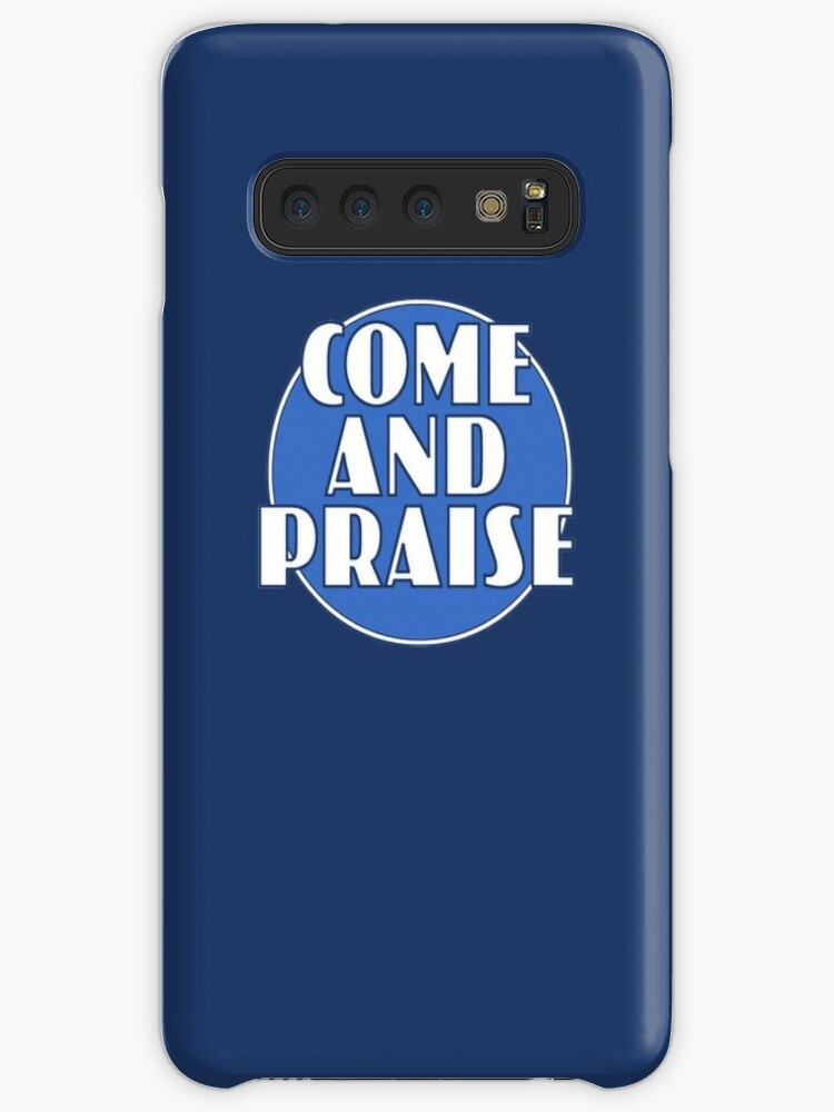 'Come And Praise, 1980s school hymn book cover' Case/Skin for Samsung  Galaxy by unloveablesteve