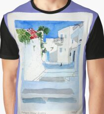 Amorgos Island Greece Graphic T-Shirt