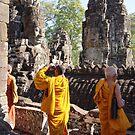 Three Monks by FlyAwayPeter