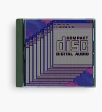 Compact Disk Jewel Case Canvas Print