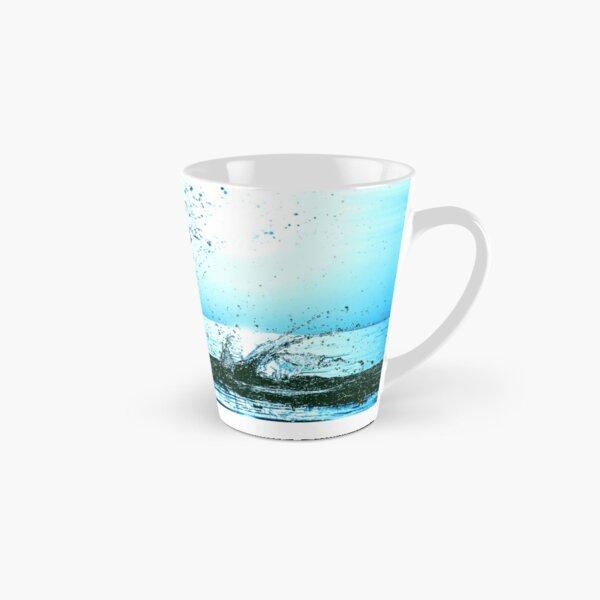 Blue water splash Tall Mug