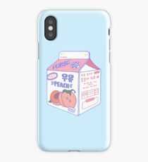 Peach Milk Carton iPhone Case