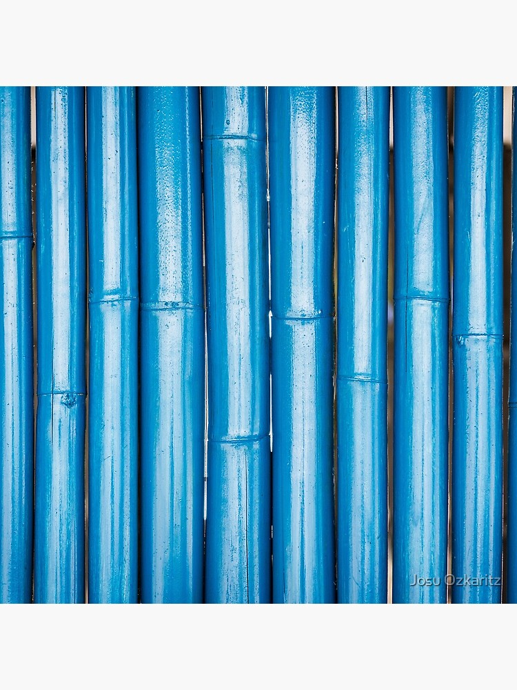 Blue bamboo canes background by Joshollywood