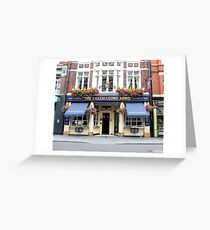 The Freemasons Arms Pub - © Doc Braham; All Rights Reserved. Greeting Card