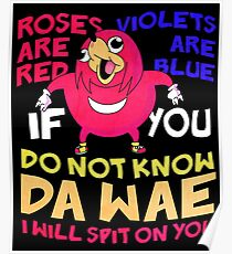 Ugandan Knuckles - I Will Spit On You Poster
