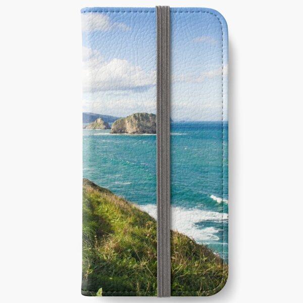 Basque Country coast landscape iPhone Wallet