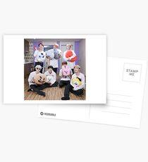 BTS BT21 Postcards