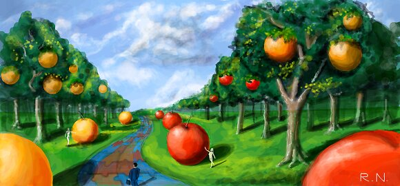 orchard by rnolan32