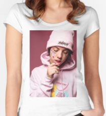 Lil Xan  Women's Fitted Scoop T-Shirt