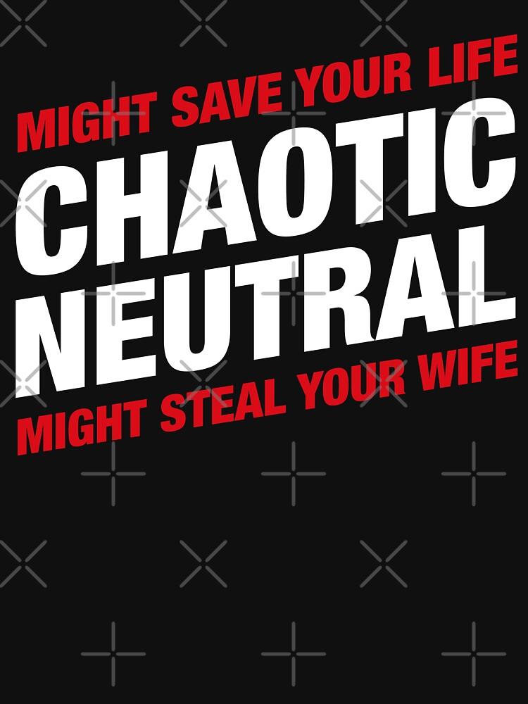 La alineación neutral caótica Meme podría salvar tu vida podría robar a tu esposa de pixeptional