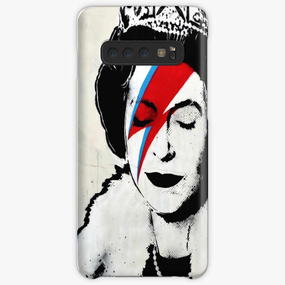 Banksy, Königin Hülle & Klebefolie für Samsung Galaxy