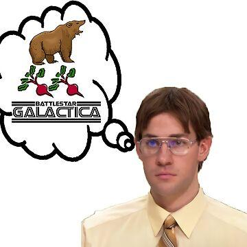 Bears. Beets. Battlestar Galactica. by NixonChrist