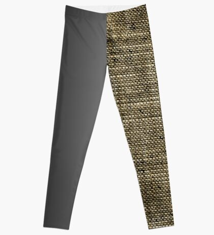 A Study in Texture and Dimension Too Leggings