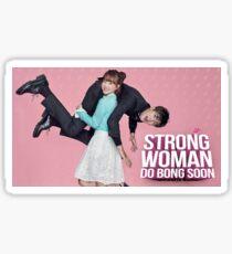 Strong woman do bong soon Sticker