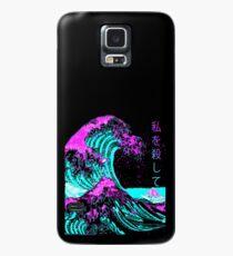 Ästhetisch: Die Große Welle vor Kanagawa - Hokusai Hülle & Klebefolie für Samsung Galaxy