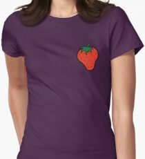 Superfruit Strawberry Womens Fitted T-Shirt