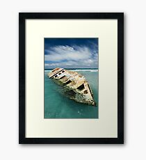 The Wreck1 Framed Print