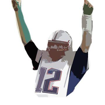Tom Brady - New England Patriots by Swiffer16