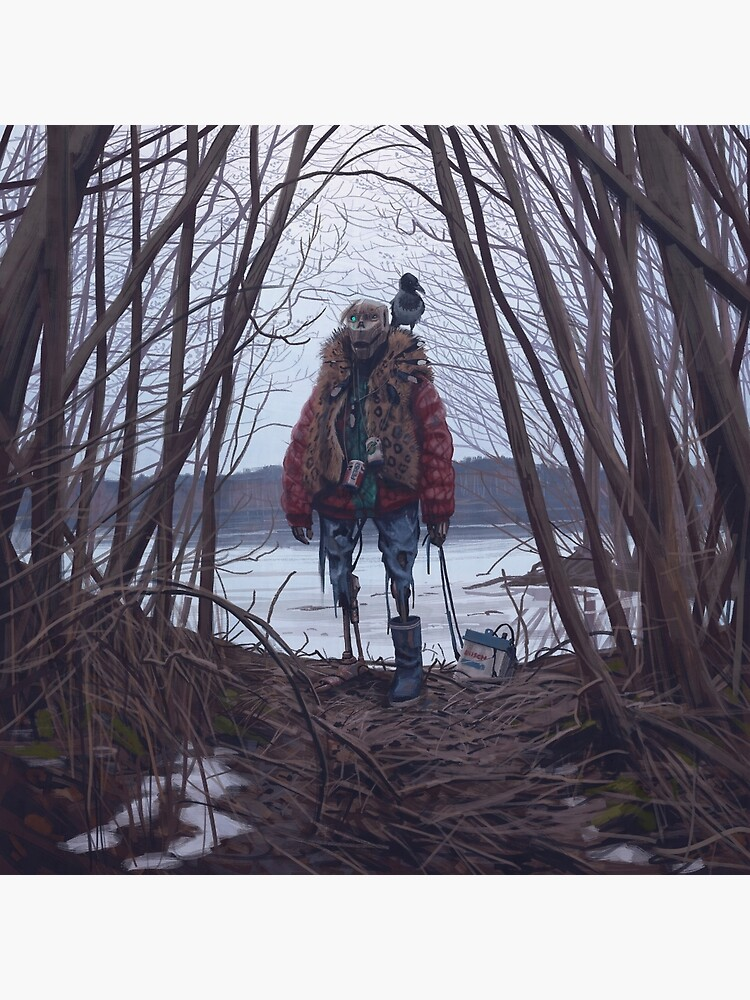 Vagabonds - The Crow by simonstalenhag