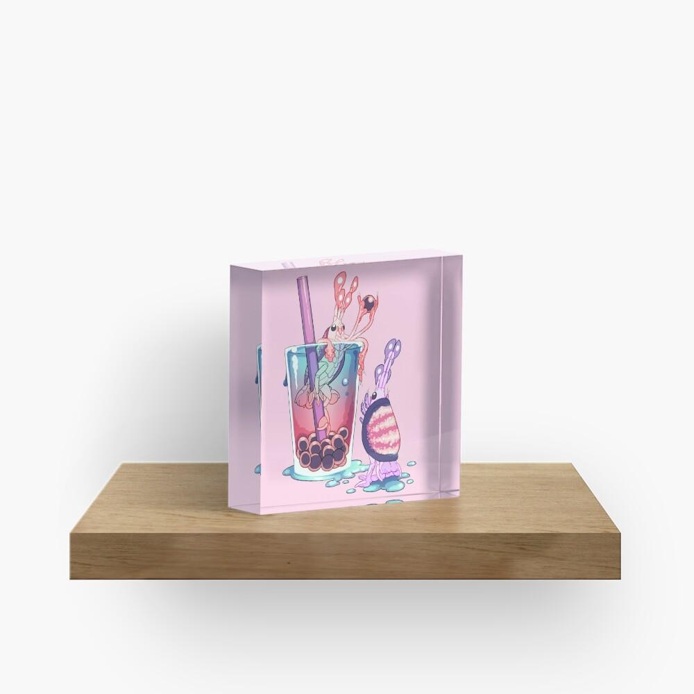 Alien Sweets: Scud Boba  Acrylic Block